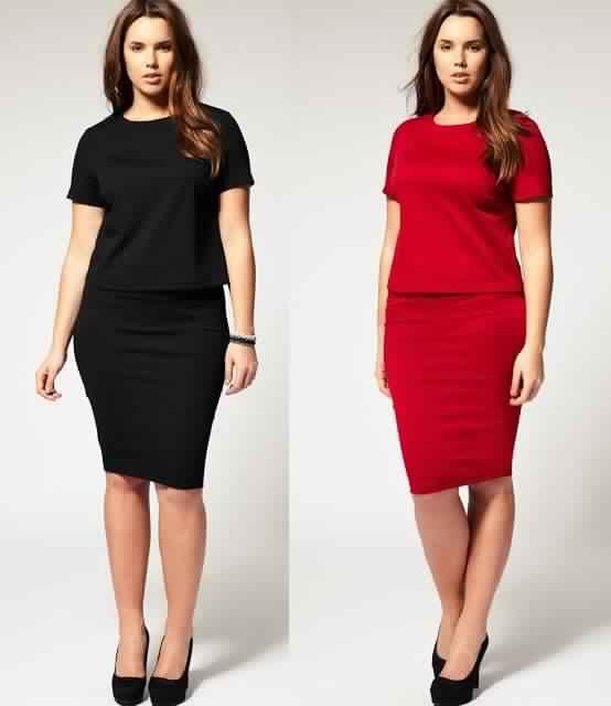 Favori Mode pour les femmes rondes - Photos de robes UE85